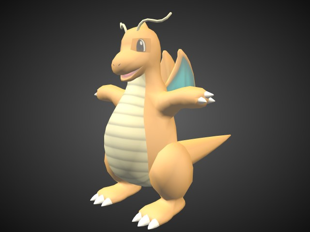 Pokemon 3d models for free download free 3d - Pokemon 3d download ...